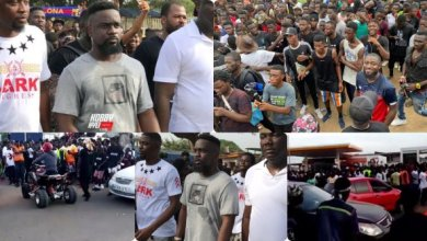 Photo of Sarkodie's Tema concert – Fans cause major traffic in every community ahead of the show