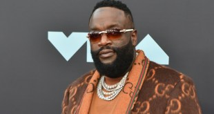 Rick Ross Lands In Ghana For Mr Eazi's Detty Rave Concert