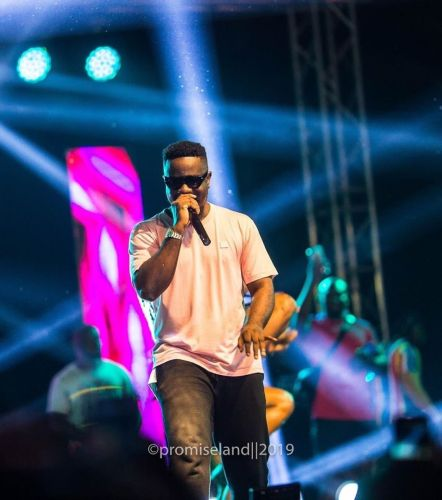 Sarkodie's Entry At Rapperholic Concert 2019