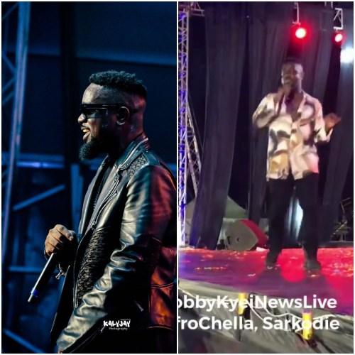 Sarkodie - Performance At AfroChella2019