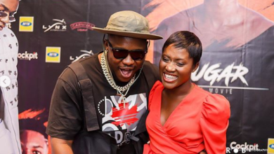 Photo of No time for beefs, I'm focusing on my wife, family – Medikal won't reply Eno