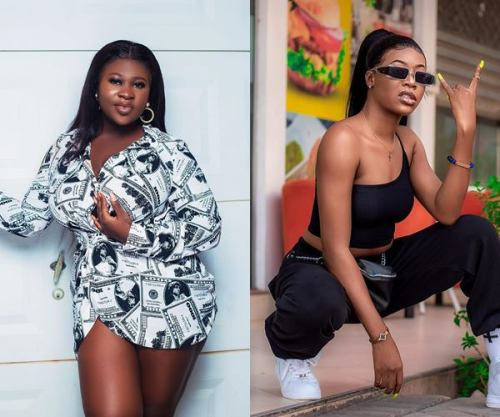 Video Sister Afia and Freda Rhymz's beef gets physical