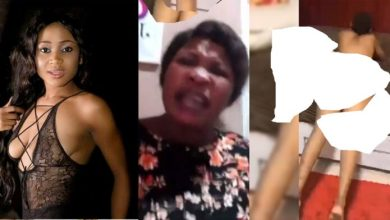 """Photo of Lady Threatens To Leak A Video Of A Man Ch00pping Akuapem Poloo's """"Trumu"""" (Video Here)"""