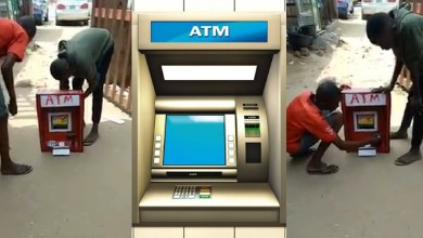 Photo of Nigerian Teen Manufactures ATM that operates with a card And Can dispenses cash