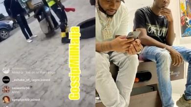 SARS Police Gives Davido's PR, Dre A Hot Slap - Video Here