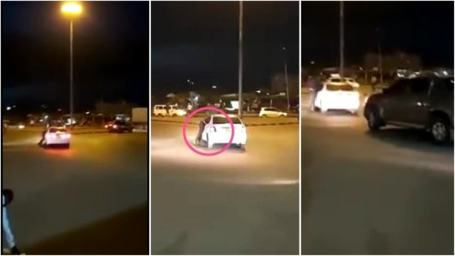 Video Of How A Guy Speeds Off With Someone's Wife - Watch Here