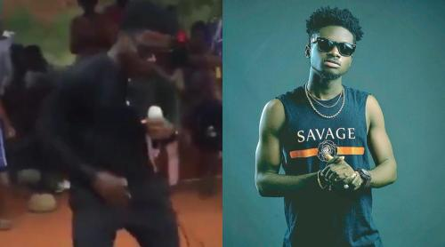 Checkout Trending Video Of Kuami Eugene's Look-Alike - Video Here