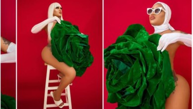 Photo of Have You Seen The Naked Images Of Toyin Lawani As She Celebrates Nigeria 60th independence day?