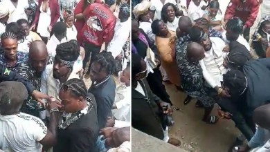 Photo of Legend Beenie Man Raced To The Hospital After Fainting At His Mother's Funeral – Video