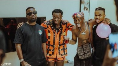 Photo of Sarkodie N Zlatan Ibile Visits Michael Blackson To Record A New Music – Video