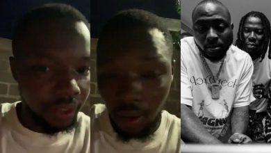 Stonebwoy N Davido Unlock Heavy Slaps To A Guy Who Leak Their New Song - Video