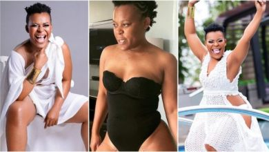 Photo of Zodwa Wabantu, South African Top Dancer Seen On Camera Peeing In A Public Sink – Watch