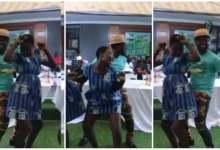 Photo of Abeiku Santana Took Good Care Of Shs Girl Who Tw3rk For Him – Video