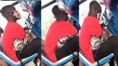 Busted - Guy Seen Privately Recording Gyal Private Property In A Moving Car - Video