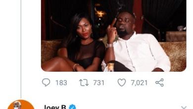 Photo of King Sarkodie Beats Joey B With Dope Tweet