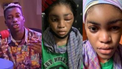 Lil Frosh Denies - I Didn't Beat My Girlfriend (Reveals De Caused Behind Her Swollen Face)