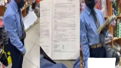 Photo of Man Of God Seen Preaching With Accounting Text Book – Video Will Shock U