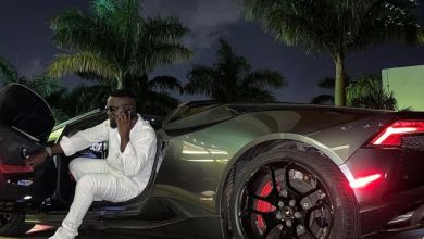 Moments When Sarkodie Arrived In A Lamborghini Huracan At The Launch Of Malta Guinness Limited Edition - Video + Photos