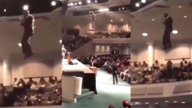 Photo of Pastor Descends From Heaven Into His Church – Video Below