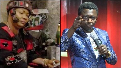 Prophet Opambour & Nana Agradaa Fight Dirty - Watch Video Below