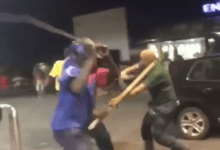 Photo of Racist Wahala – White Man Given Hot Beaten After Calling A Guard Monkey In Africa – Video