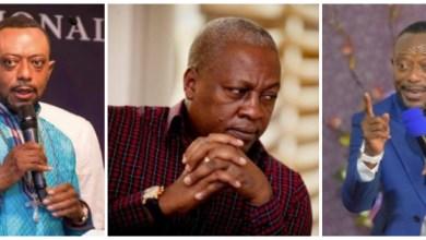 Rev Owusu Bempah - I Saw John Mahama Carrying Coffins, Coming Out Of A Dark Pit - Video