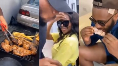 Photo of See How Ex-housemates Of BBNaija Season 5 Enjoyed Lucy's Cooking At Her Residence – Video