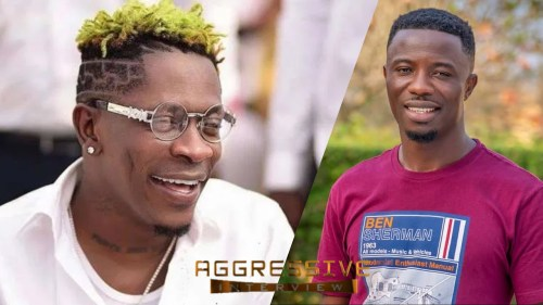 Shatta Wale - AGGRESSIVE INTERVIEW With KWAKU MANU