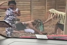 Photo of Slay Queens Fight Nak3d N Exchange Blows In A Street Fight – Video