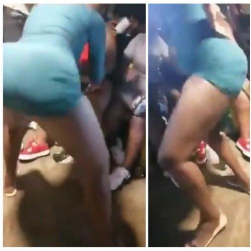 Video Slay Gyal Puts Her Raw Apple On Display As She Displays Dancing Skills