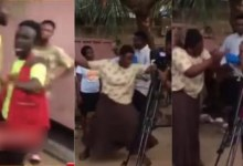 Photo of Woman Beats Movie Producer Who Slept With Her But Refused To Give Her A Role – Video
