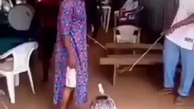 Photo of Pastor Whipped Nonstop 4 Hiding Black Medicine Behind His Church – Video