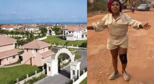 Afia Schwarzenegger Goes Wild Again - Sugar Daddies At Trasacco Are Not Guy (Video)
