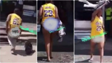 Photo of Alleged Bootylicious Lady Runs Mad After Sleeping With Man In A Hotel – Video