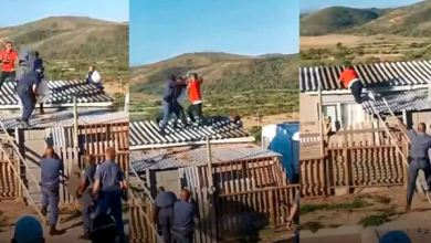 Photo of Boy Throw Punches With Police Officers On The Roof Of A House – Video