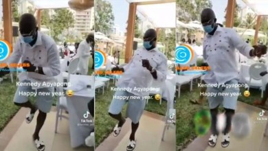 Photo of Honorable Kennedy Agyapong Displays His Stylist Street Dance Moves At A Party – Video