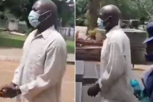 Man Try To Have Sεεx With Lady's Corpse In Front Of Her Family At Her Funeral - Watch