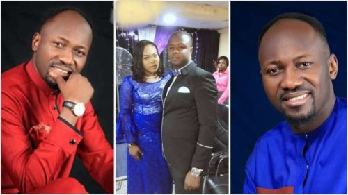 DRAMA: Pastor Mike Who Accused Apostle Suleman of Sleeping With His Wife Apologizes Openly - Video