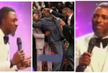 Photo of Pastor Warns Church Members Falling Under Anointing – Break Anything N Pay (Trending Video)