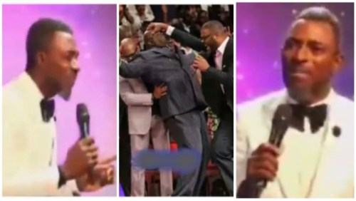 Pastor Warns Church Members Falling Under Anointing - Break Anything N Pay (Trending Video)