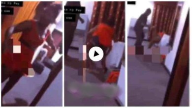Photo of Pay Me Or I Deal With U – Alleged $£x Worker Go Out Of Control On A Client – Video