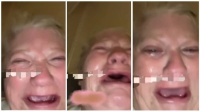 Photo of Scammed White Lady Cries The Water Out Of Her – Watch Video