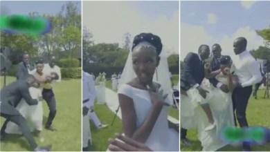 Photo of Shakilla Crashed Eric Omondi's wedding N Beats Him Up – Watch Video