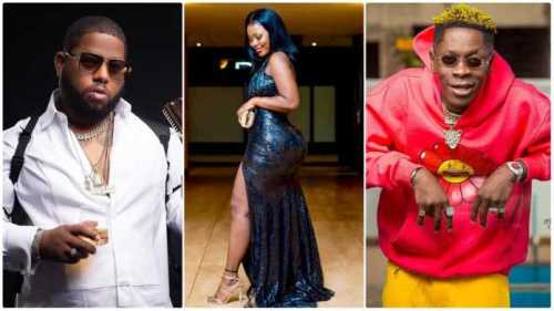 Shatta Wale Fights Kunfu With D-Black Over 18-year-old Big Tundra Albby Minaj - Watch