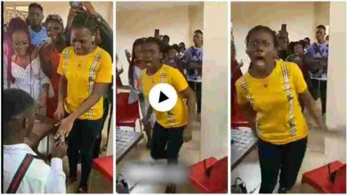 Photo of Girl Went Mad After Boyfriend Proposed 2 Her – Video Below