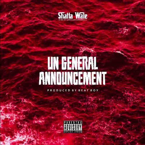 Shatta Wale - UN Announcement 2 (Samini Diss)