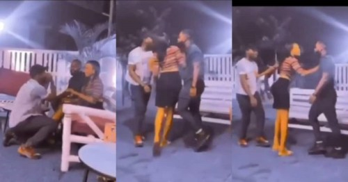 Boyfriend Fights Another Guy In Public Over Date Rush's Cilla - Video Na Funny Rough