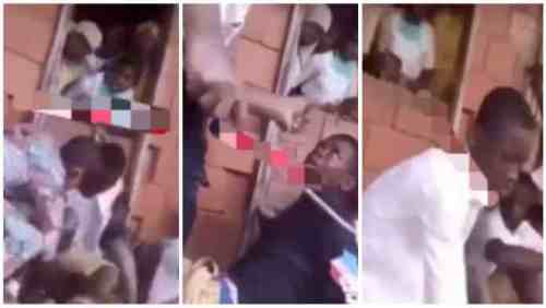 See What These Male Students Went Through After Taking In Wee - Video Below
