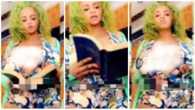 Photo of Social Media On Fire As Slay Mama Gives Sermon On Instagram With No Dress – Video