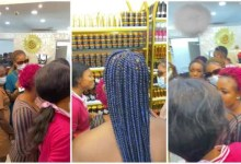 Photo of Ladies Line Up In New Charm Store To Buy Tie Him Down Cream To Win Men – Video Below